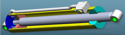 Threaded / Ring Retained Hydraulic Cylinders